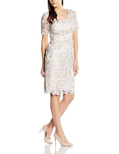 Ikerenwedding Damen Column Kleid Small Champagne