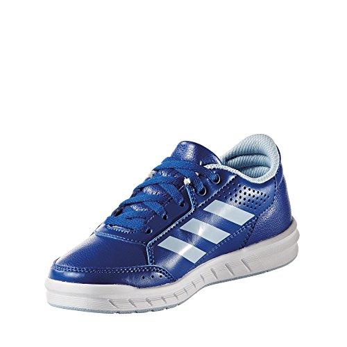 adidas AltaSport K BA9542 Jungen Schnürhalbschuh sportlicher Boden Blau (Blau)