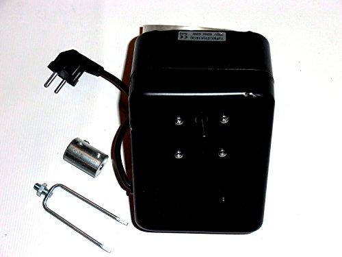 Grillmotor schwarz 16U/Min bis 30Kg Season Angebot mit Lüfter STARK