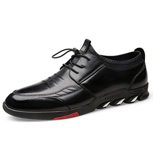 Herrenkleid, Casual Plus Velvet Warm Fashion Versatile Shoes (Black, Brown),Black,5.5UK Black Velvet Sneakers