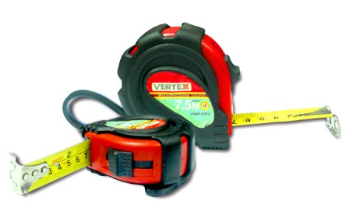 VERTEX - MEASURING POCKET TAPE 7.5M / 25 FT - 25MM BLADE