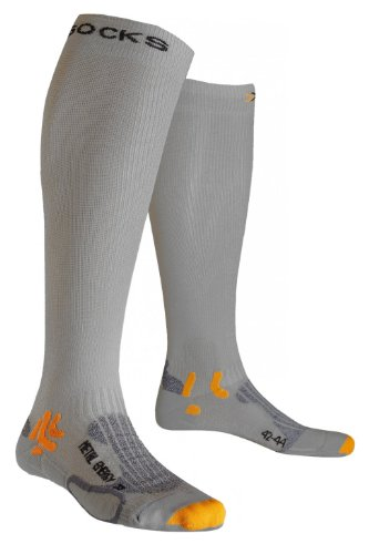X-Socks Funktionssocken Speed Metal Energizer, Silver/Light Grey, 35/38