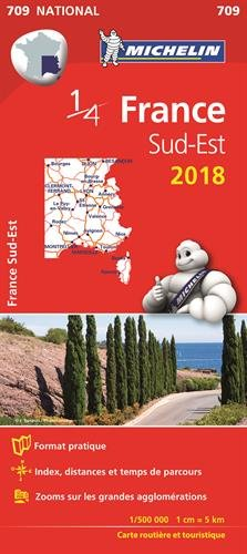 Carte France Sud-Est Michelin 2018