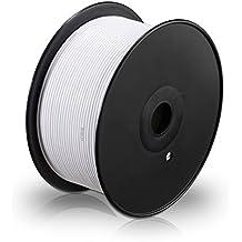 MANAX® cable del altavoz 2 x 1,50 mm² 100 m blanco bobina