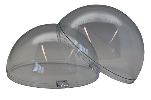 Glorex 6 3500 007 Kunststoff-Kugel, teilbar, 16 cm, glasklar