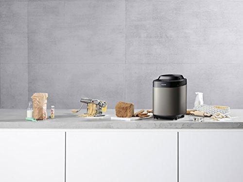 Panasonic sd-zx2522kxs máquina para el pan automática, Novita esclusiva Color 3programas para Farine sin glutine Color Pan, pasta y tartas, antracita