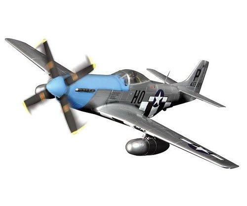 Unimax 432385223  - EE.UU. P-51D Mustang 1:72