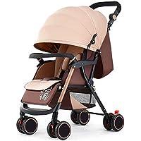 LjfⓇ Hot Mom Sistema di Viaggio per Passeggino, Passeggino Pieghevole Leggero Fino a 15 kg con Posizione sdraiata, portabicchieri, parapioggia