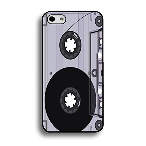 Iphone 6 Plus/6s Plus 5.5 Inch Magnetic Tape Shell Cover,Personality Cusom Music Tapes Phone Case Cover for Iphone 6 Plus/6s Plus 5.5 Inch Cassettes Cool Color190d