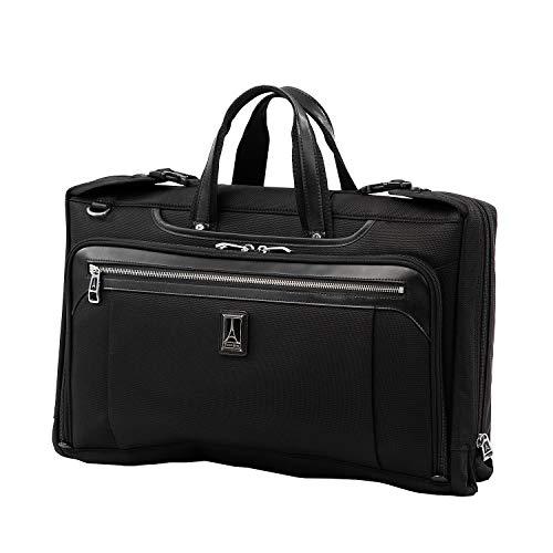 Travelpro Platinum Elite Borsa Pieghevole per Completo Bagaglio A Mano 32x51x10 cm, Morbida e Durevole, 20 Litri, Valigia da Viaggio, Colore Nero, Garanzia 10 Anni