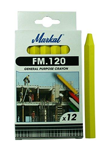 Markal 44010200FM.120Kreide, gelb (12 Stück)
