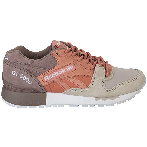 Basket Reebok GL 6000 SNE Rose et Taupe Multicolore - Multicolor - Rustic Clay / Sandy Taupe (Mehrfarbig)