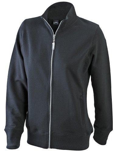 Sweat pour femme, tailles :  s-xXL/6 couleurs veste pour femme Noir - Noir