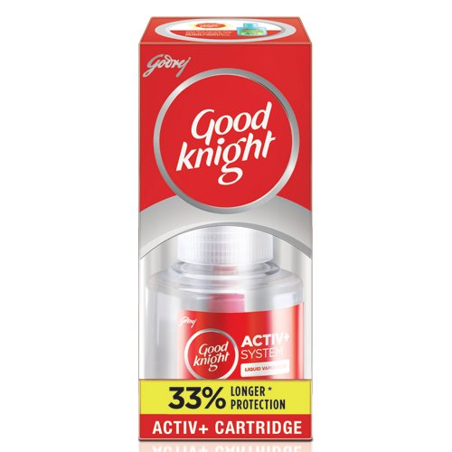 Good knight Activ Advanced + Liquid Refill 33% Extra Protection...