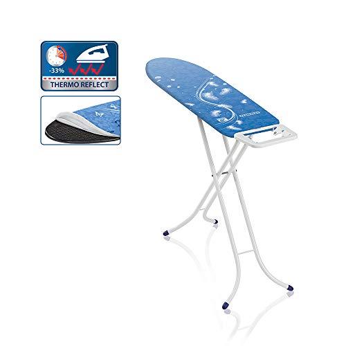 Leifheit Bügeltisch Air Board S Compact für beste Ergebnisse in kürzester Zeit, ultraleichtes Bügelbrett, Kleines Bügelbrett mit standsicherem Gestell