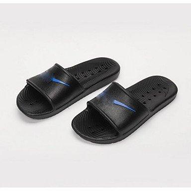 Stivali inverno delle donnePU casual tacco grosso, sandali di Ruby sandali White
