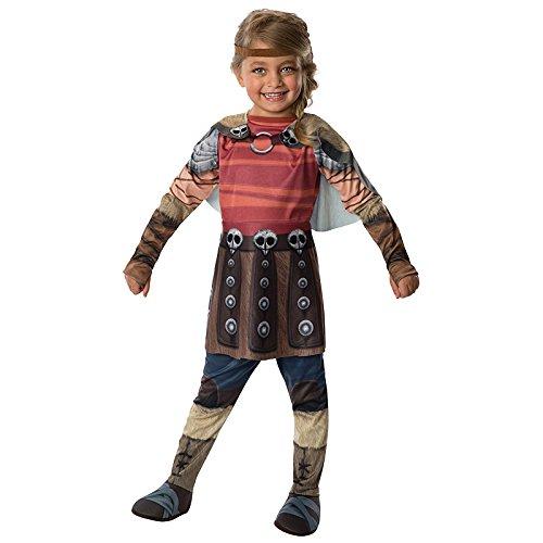 en leicht gemacht Gr. S (3-4 Jahre) Fasching Karneval Kostüm Kinderkostüm Mottoparty Kriegerin ()