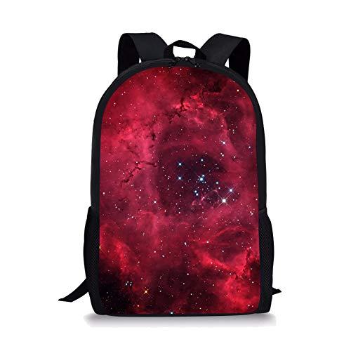 POLERO Galaxy Personalisierte Schulrucksack Primary School Canvas Taschen Book -