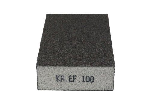 KA.EF. Schleifschwamm Korn 100 P220 Schleifmatte Schleifpad Vlies Schleif Scheiben