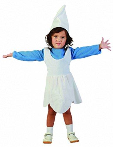 inkind Mädchen Kostüm Schlumpf Gnome Fancy Kleid Outfit (Kleinkind Schlümpfe Kostüme)