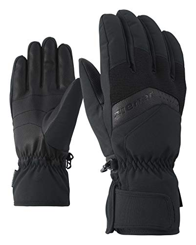Herren Ski-handschuh (Ziener Herren Gabino Glove ski Alpine Handschuhe, Black, 9)