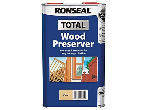 Ronseal RSLWPCL5L 5 Litre Total Wood Preserver - Clear