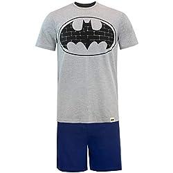 DC Comics Pijama para Hombre Batman Azul Size Large