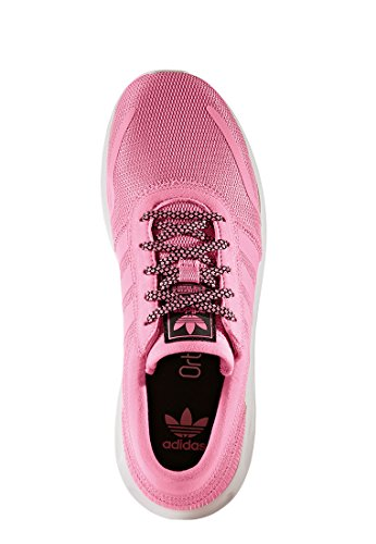 adidas Los Angeles J, Sneakers Basses Mixte Enfant Rose (Easpnk/easpnk/ftwwht)
