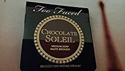 Too Faced Chocolate Soleil Medium/Deep Matte Bronzer Mini (.08 oz)