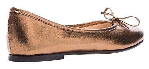Guoar - Scarpe chiuse Donna Oro