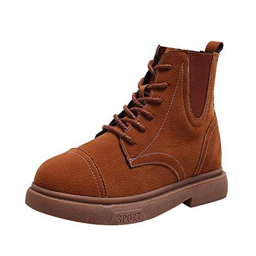 4158fb39d8a1 Stiefel Damen, LANSKIRT Unisex Damen Herren Worker Boots Übergrößen Warm  Gefüttert Stiefeletten Work