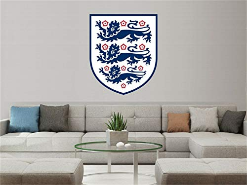 Adesivo murale 3d bambini inghilterra squadra nazionale di calcio per la decorazione d'interni per la casa per camera da letto per soggiorno per boy room