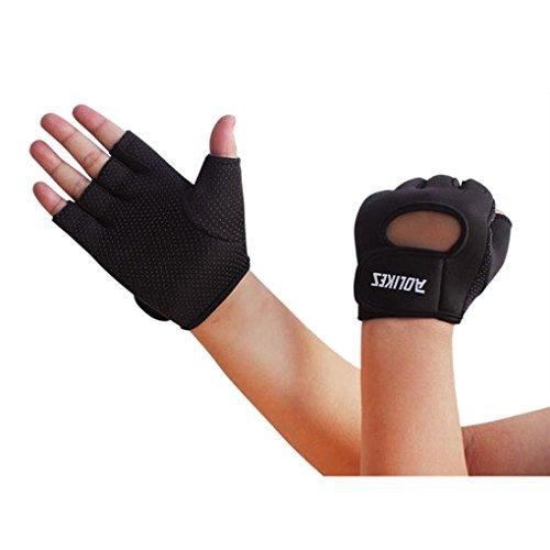 LUFA Frauen Männer Outdoor Radfahren Klettern Anti Rutsch Handschuhe Sport Half Finger Handschuhe