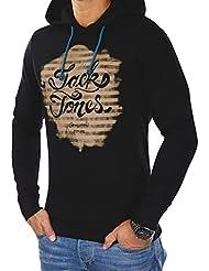 JACK & JONES Herren Hoodie jorGERBER Sweat Kapuzenpullover Regular Fit