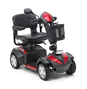 Drive Medical Envoy 4 Class 2 Mobility Scooter - Red