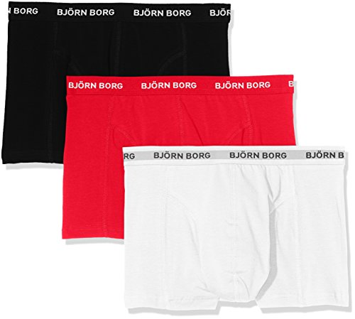 bjorn-borg-3p-shorts-noos-solids-boxer-homme-rot-true-red-40011-m