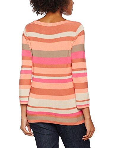 GERRY WEBER Damen T-Shirts Multicoloured (Mandarin/ Sand/ Caramel)