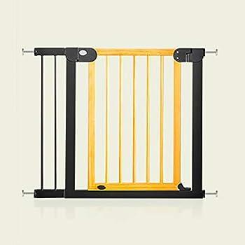 FPigSHS Porte de clôture pour Animaux Barrière de sécurité Porte de sécurité pour Enfants Rampe d'escalier Barrière d'isolement bébé  Chat et Chien Porte pour Animaux