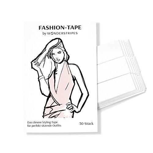 Wonderstripes Fashion Tape, Styling Pflaster, Dekollete und Outfits befestigen, 30 Stück