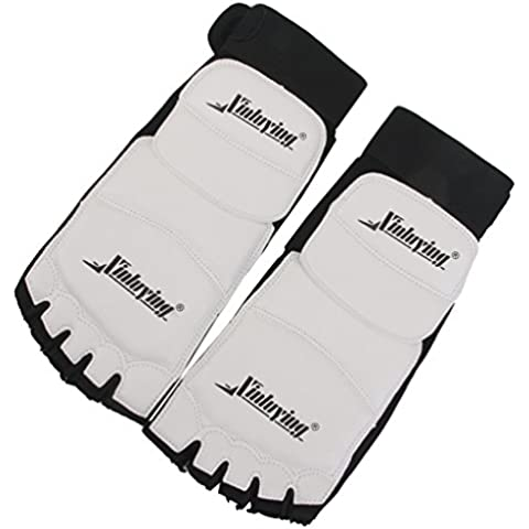 1Par Protector Pie Almohadillas para Taekwondo Kárate Boxeo Entrenamiento (XL)