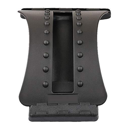 Tradtrust Lumbar Suppor Tools,Back Massage Stretcher Arch Black Magic Message Stretcher Back Stretchers Lumbar Support Device ce - Black Magic Compact