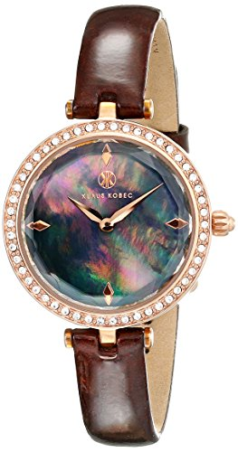 Klaus Kobec Women's KK-10001-05 Angel Analog Display Japanese Quartz Brown Watch