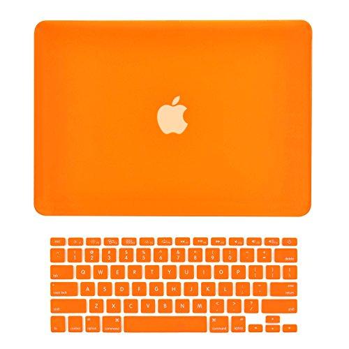 TOP CASE - Gummierte Hardcase- und Tastaturabdeckung für MacBook Air 13