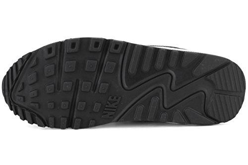 Nike Air Max 90 Prem Mesh (Gs), Scarpe da Corsa Bambini e Ragazzi Black White