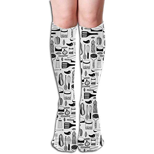 SDFGSE Women High Keen Socks Boots Crew Tool Pattern Socks Compression Long Athletics Stockings for Men Women Usa Compression-tool