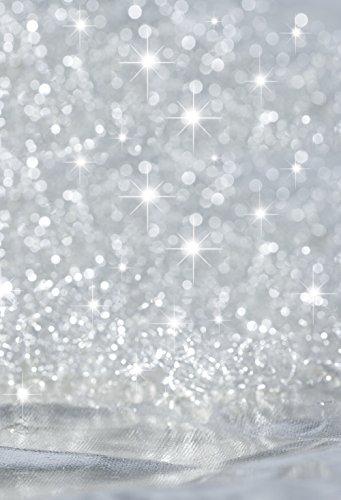 Muzi 150x 220cm Fotografie Hintergrund Papier Remasuri Metallic Bokeh Sparkles Foto Hintergrund grau Glitter Baby Geburtstag Hochzeit Fotoshootings Hintergrund Indoor Studio Requisiten d-2403 (Baby Fotoshooting Hintergrund)