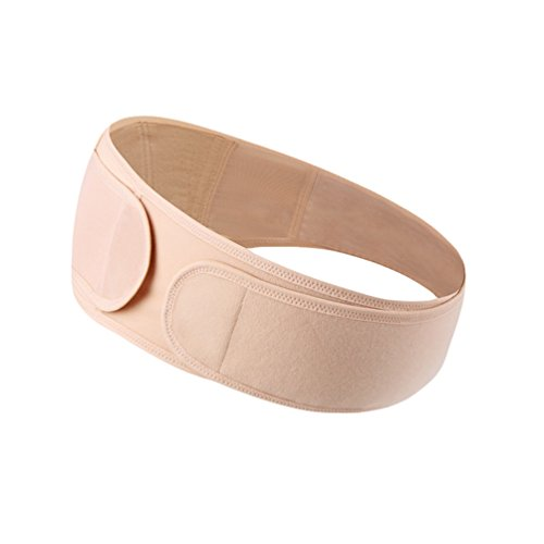 Dexinx Mutterschaft Schwangerschaft Unterstützung Gürtel Bauch Bauchband Bequeme Bauch Band für Schwangerschaft Einstellbare Abdominal Binder Hautfarbe XL (Mutterschaft Unterstützung Gürtel)