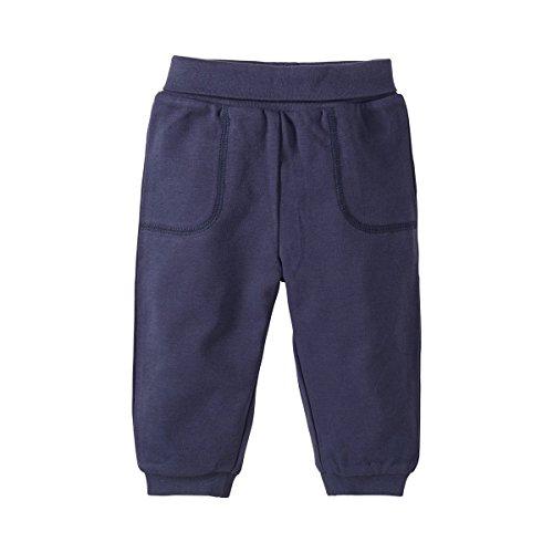 BORNINO Stoffhose Baby-Hose, Größe 50/56, blau