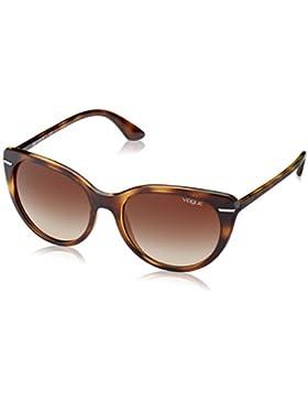 Vogue 0Vo2943Sb, Gafas de Sol para Mujer, Dark Havana, 55