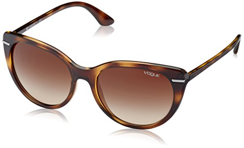 Vogue 0vo2941s w65613 56, occhiali da sole donna, marrone (dark havana/browngradient)